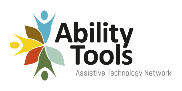 Logo of Ability Tools assistive technology network.