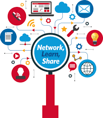 atia's logo for 2016 which shows a mind mapping image with tools and computers and says network, learn, share