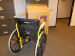yellow manual wheelchair picture