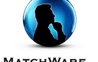 Machware logo of a silhouette of a man with hand under chin thinking