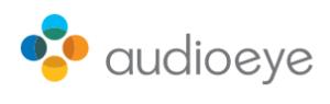 Audio eye logo
