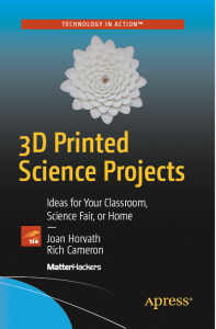 3DP science projects book cover