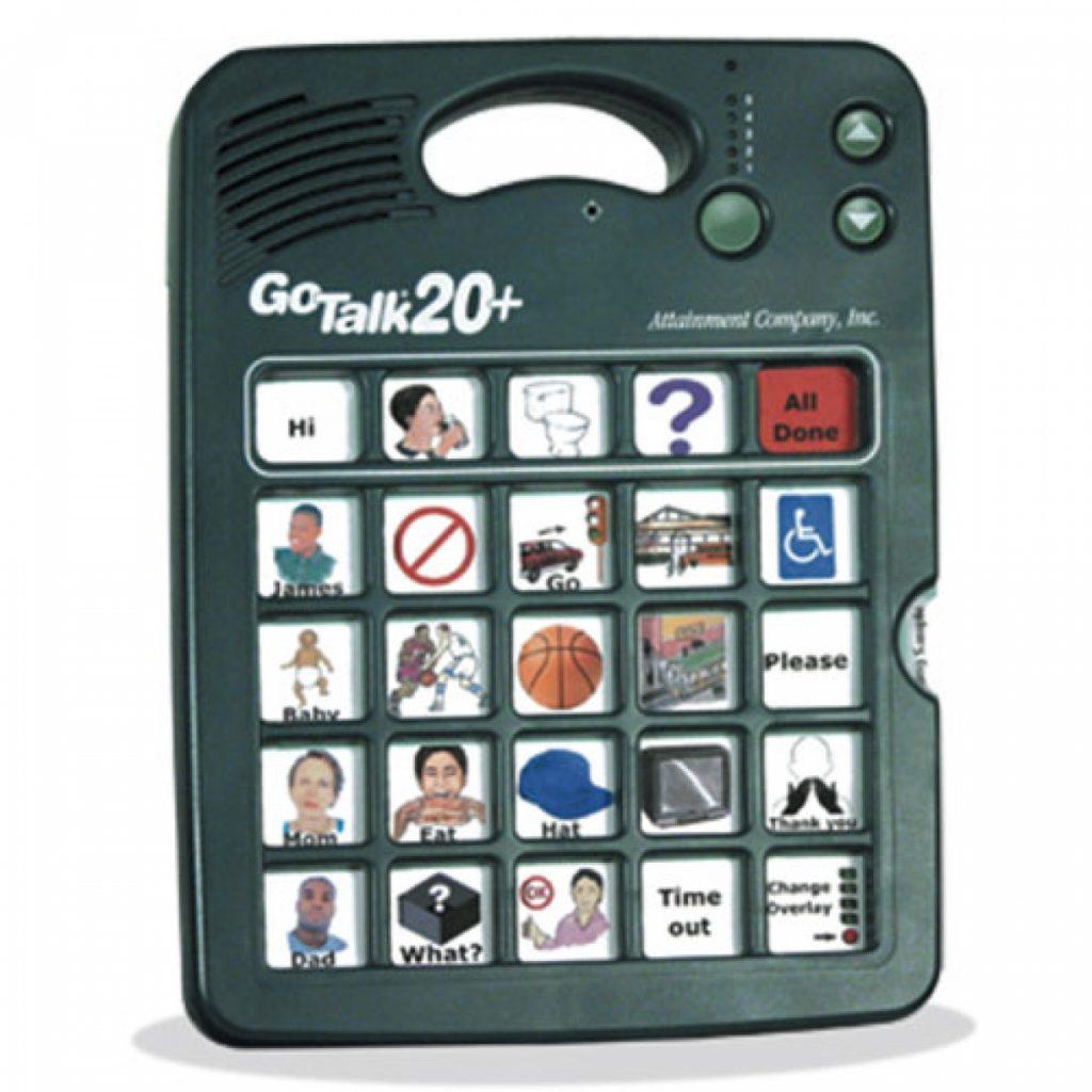 A Go Talk 20+ AAC Device