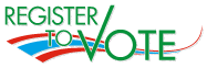 Logo Register to Vote.
