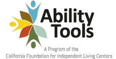 Logo of Ability Tools - Assistive Technology Network.